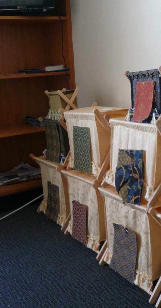 Knitting bags…a work in progress